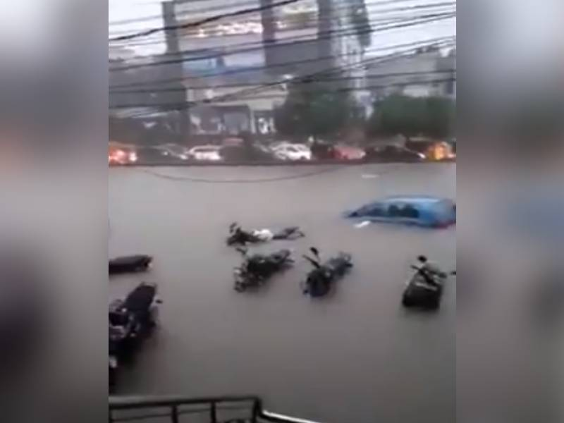 In Video: Hyderabad rains on September 16