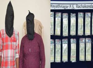 Two, including cash loader, held for robbing Rs 9L cash from Hayathnagar HDFC Bank ATM