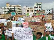 Greta Thunbergs of Hyderabad to launch shoe strike for climate justice on 25 Sept.