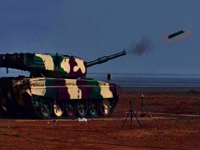 DRDO successfully test fires laser-guided anti-tank missile from MBT Arjun