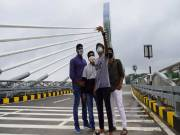 Durgam Cheruvu bridge closed for vehicle traffic on weekends