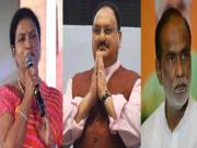 Nadda's new team disappoints Telugu states