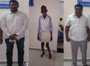 Rachakonda cops save land in Bibi nagar arrest four crooks