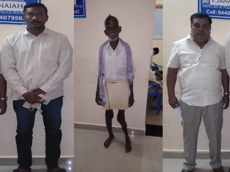 Rachakonda cops save land in Bibi nagar arrest four crooks