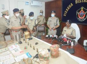 Maoist carrying reward of Rs 4L on his head arrested in Vizag