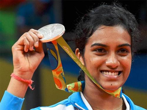 P.v. Sindhu, Badminton
