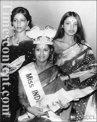 miss india winner 1974