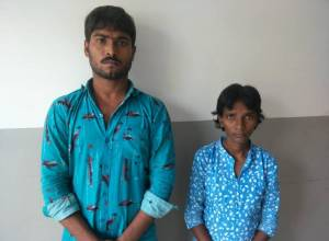 Inter-state burglar couple arrested at Ibrahimpatnam