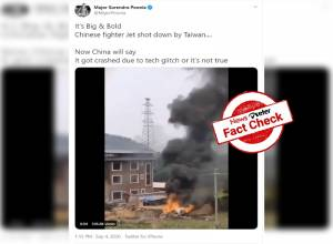 Fact Check: Viral claims that Taiwan shot down Chinese SU-35 jet are FALSE