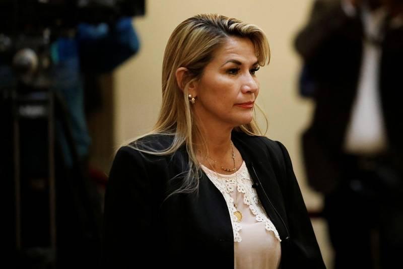 Bolivian President Anez