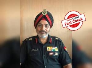 Fact Check: No, top army officer Lt General Taranjit Singh has not been arrested