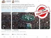 Fact Check: 2019 Video of Prophet's birthday celebration shared as recent Muslim protests against France
