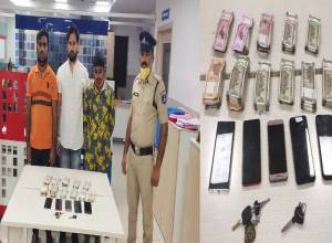 Three cricket bookies arrested at Upparpally, Rs 5.6L stake money seized