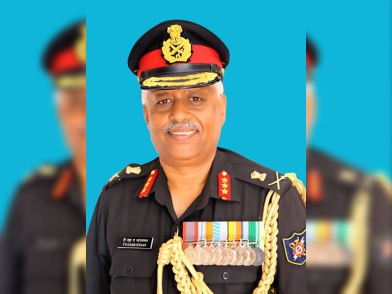 Lieutenant General TSA Narayanan is the new commandant of MCEME