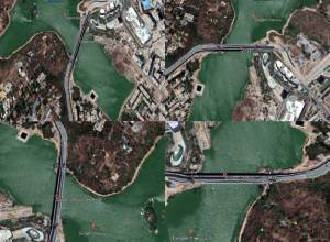 Mapping the new landmark of Hyderabad: Durgam Cheruvu bridge