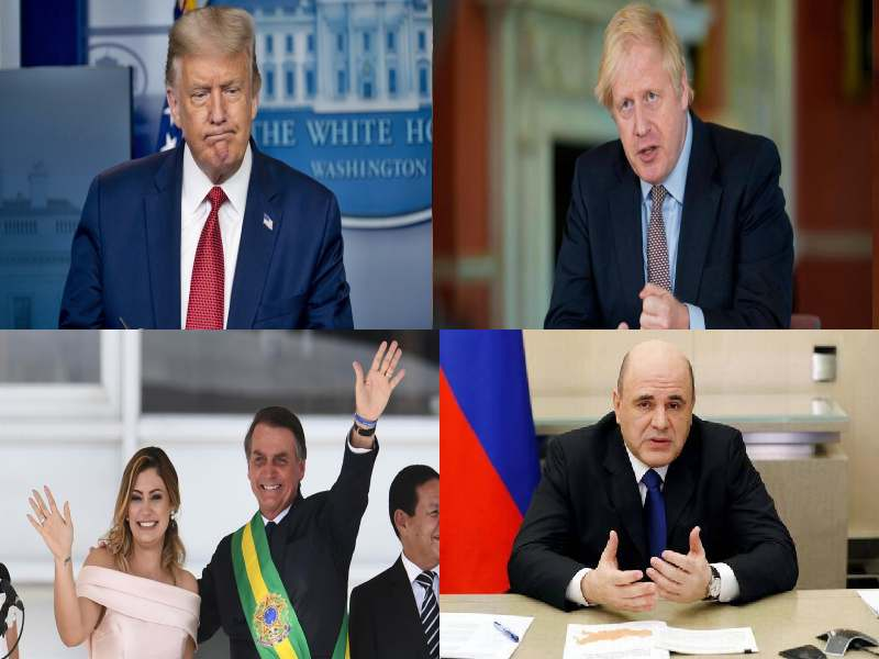 List of world leaders who tests COVID positive