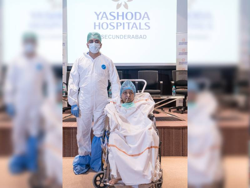 58-YO Covid patient gets a new life through 'Extracorporeal Membrane Oxygenation'