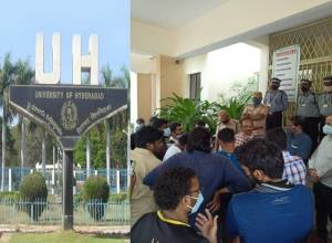 UoH students demand removal of cut-off marks for MPhil/PhD seats