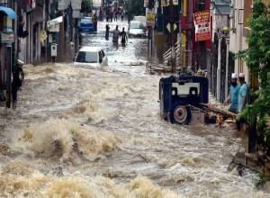 Days after floods, Hyderabad reels under heavy rainfall