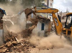 GHMC identified 545 dilapidated structures, 187 demolished