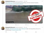 Fact check: Claim of Pedda cheruvu bund breached is false