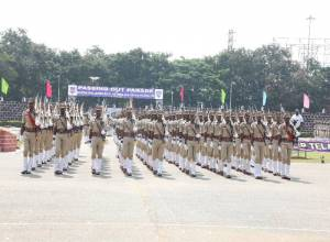 Passing out parade held for trainee Sub-Inspectors