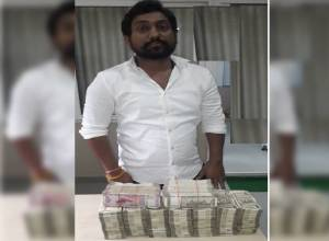 Hyderabad Police Task Force bust illegal Hawala racket; arrest one, recover Rs 50 lakh cash