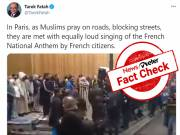 Fact Check: Video showing French protests against Muslim street prayers is from 2017