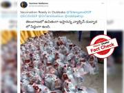 Fact Check: Liquor bottles in viral image are not from Dubbaka but from Thailand